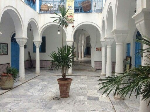 libyan-courtyard-house